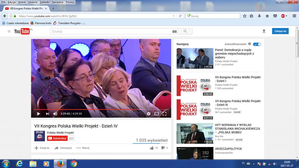 Ja na Polska Wielki Projekt niedz 21 maj 2017