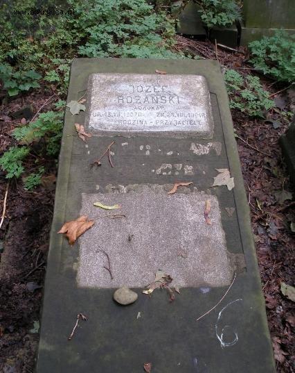 grób Różańskiego cm. żydowski