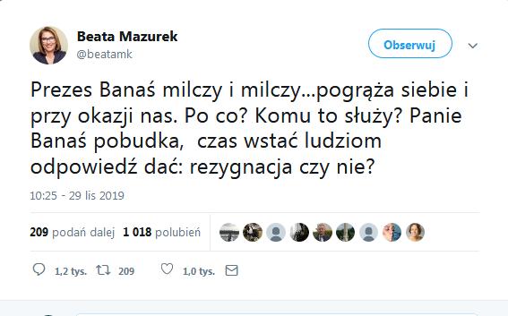 Screenshot_2019-12-16 Beata Mazurek on Twitter